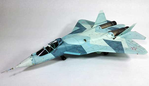Sukhoi OKB Su-57 Nicolas Perdomo -1/72