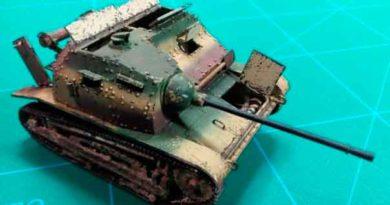TKS 20mm tankette foto 2
